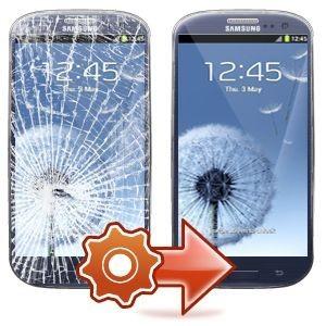Samsung galaxy écran cassé